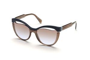 397bb4a149f2 Brand New 2019 Miu Miu Sunglasses Women MU 01TS UE6-2H2 Blue ...