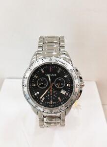 molto carino 2f4a0 db109 Dettagli su Orologio Versace Uomo Cronografo 12C99D008S099