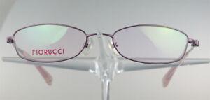 FIORUCCI-FO-3007-Brille-Brillengestell-Pink-Handler-Metall-Vollrand-Damen-NEU