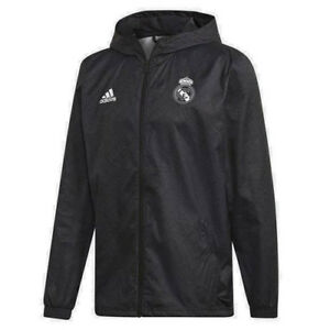 adidas-Men-039-s-Real-Madrid-Windbreaker-Jacket-Black-DX9677