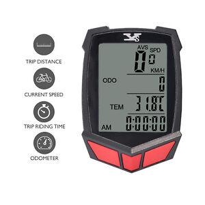 Wireless-LCD-Digital-Cycle-Bike-Computer-Bicycle-Speedometer-Odometer-Backlight