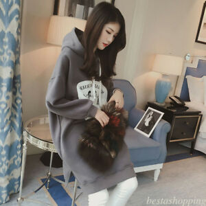 Women-Thick-Hooded-Sweatshirts-Oversize-Shift-Loose-Casual-Autumn-Winter-Dress