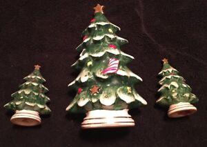 Lefton Vintage Porcelain Christmas Tree