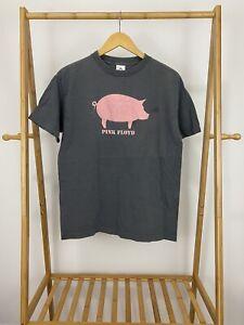 VTG-Y2K-Pink-Floyd-Pig-Gray-Short-Sleeve-T-Shirt-Size-M