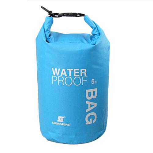 2L// 5L Waterproof Dry Bag Sack Pouch Boating Kayaking Camping Rafting Hiking Bag