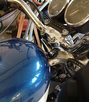 Harley Hd Sportster Chrome Spike Steering Stem Bolt Cover Triple Tree Top Center