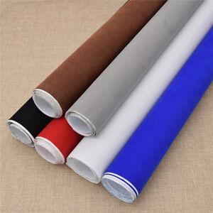 Mehrfarbig-Selbstklebend-Samtgewebe-Dekostoff-Basteln-Stoff-DIY-Kleidung-Tasche