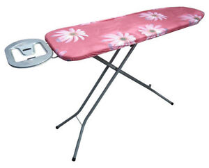 Folding-Steel-Frame-Steam-Ironing-Board-Laundry-Clothes-Care-House-Work