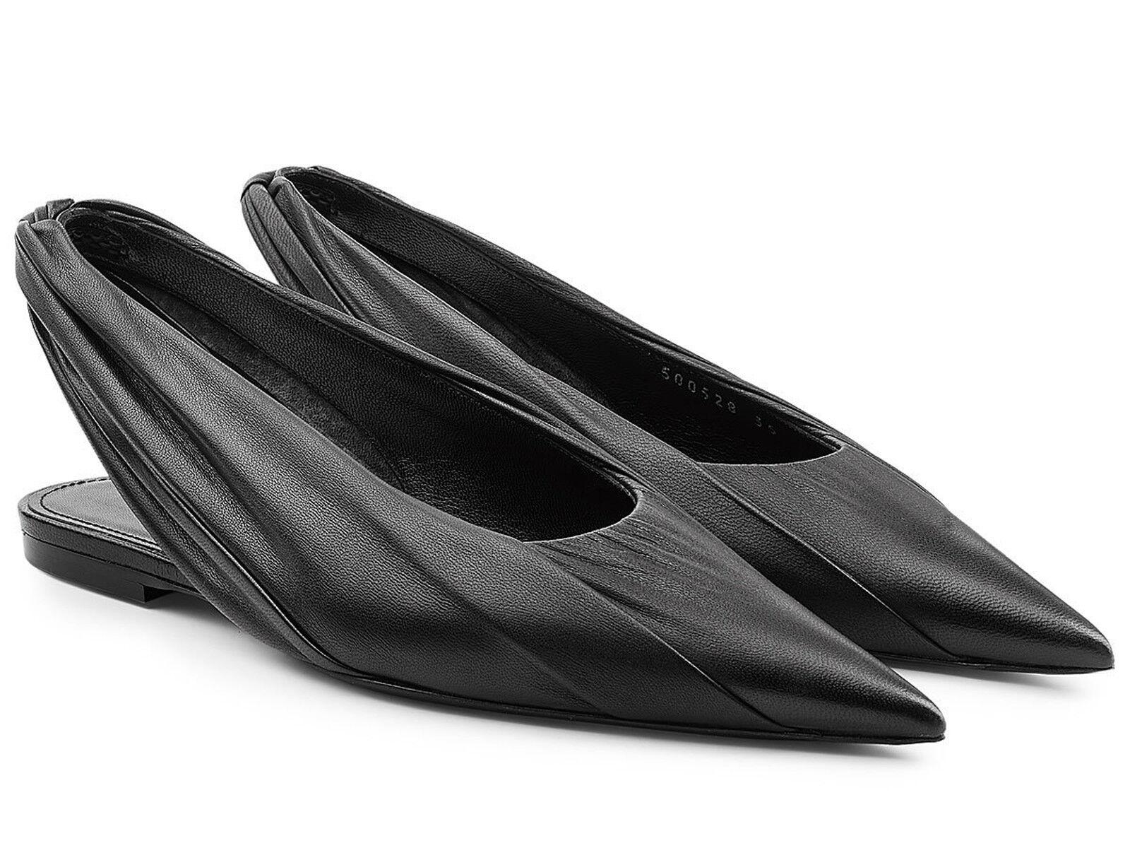 economico Balenciaga Knife slingback sandals luxury scarpe in nero leather leather leather  ti renderà soddisfatto