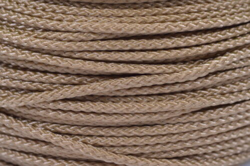 Micro Cord 1.18mm 125ft Nylon Rope Spool Gold Made in the USA