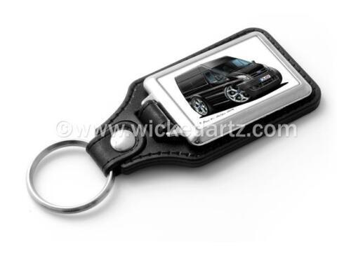 WickedKarz Cartoon Car Ford Transit MK7 Van /'Hi Roof/' in Black Stylish Key Ring