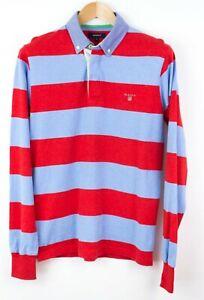 Gant-Hombre-Jersey-Cardigan-Cuello-Polo-Camiseta-Talla-S-KZ604