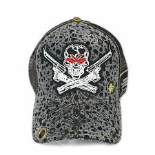 Red Monkey Limited Edition Dead Shooter Skull Snap Back Cap Trucker Hat