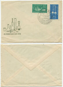 36194 - Mi.Nr. 713-714 - FDC - Berlin 1.9.1959 - 75 Jahre Glas aus Jena
