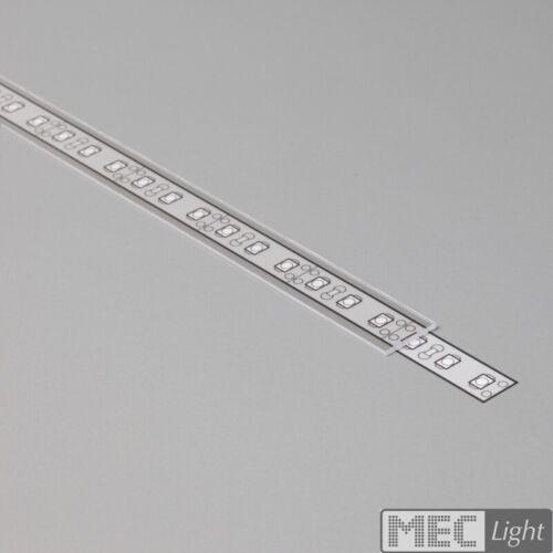"""Couvercle Aluminium BarreprofiléRail /""""begtin 12/"""" pour bande DEL"""