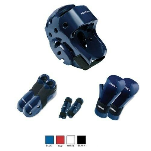 Century blueE 7 PC SET Sparring  Gear Set  Any Size with SHIN Guards SET  factory direct