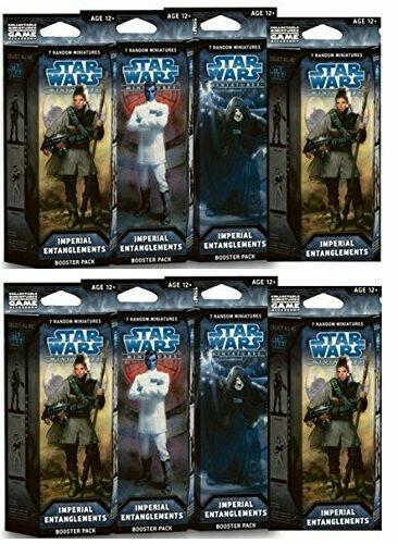 buscando agente de ventas Estrella Estrella Estrella Wars Miniaturas Imperial algunos enrojoos - 4 Cajas Selladas  comprar mejor
