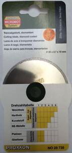 for dremel proxxon sander ø22mm ø35mm ø50mm 10x diamond discs