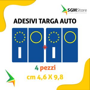 Kit-4-pezzi-adesivi-adesivo-per-targa-europa-per-auto-Stickers
