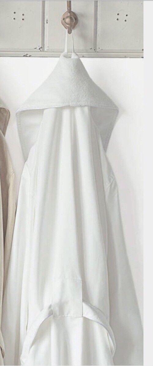 Majestic International Shawl Egg Shell shawl collar Men Long Bathrobe OSAF