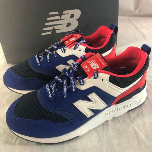 NIB New Balance 997 Youth Running Athletic Shoes Size 6 Reflective Blue InfaRed