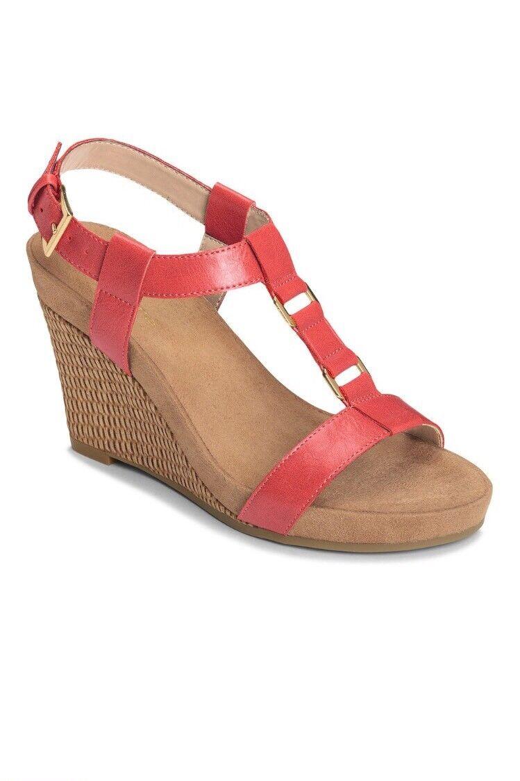 Women's A2 by Aerosoles Nite Espadrille Wedge Sandals  70 SIZE  9