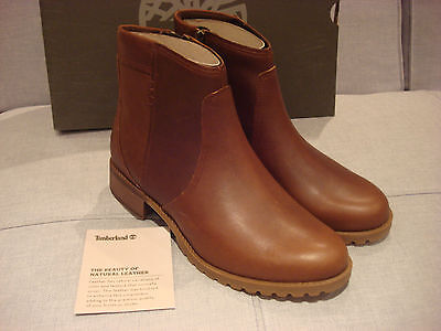 TIMBERLAND WOMEN/'S BANFIELD WATERPROOF ANKLE BROWN SIZE 8 SHOES BRAND NEW
