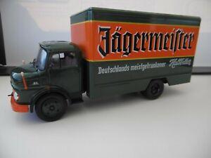 IXO-Camion-Mercedes-Benz-L1113-bebida-JAGERMEISTER-Modelo-1-43-ref-Gj