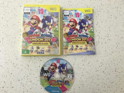1 of 1 - Mario Sonic London 2012 Olympic Games (Nintendo Wii) Tracked Parcel Post