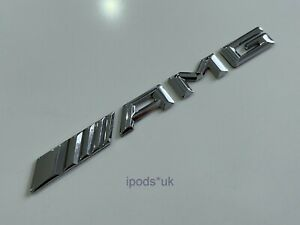 NEW STYLE MERCEDES BENZ AMG REAR BOOT BACK CHROME BADGE
