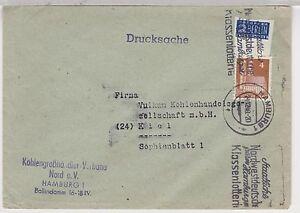 Dynamique Bizone / Constructions, Mi. 74wg,ef , Hamburg, Brs ,24.12.48 ,geschn.notopferur