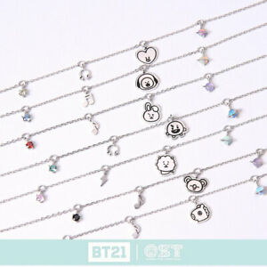 BTS-BT21-Official-Authentic-Goods-Silver-Bracelet-by-OST-7Characters-Tracking