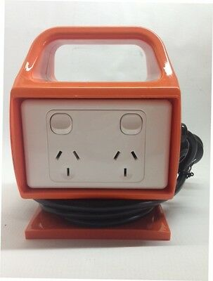 Portable Power Board 4 Way 10 Amp Outlet MCB/RCD