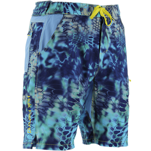 Huk next level kryptek fishing boardshort pick color for Huk fishing shorts