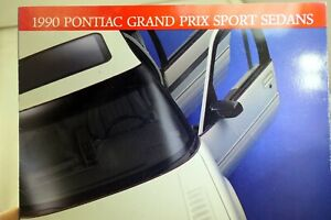 Pontiac-1990-Dealership-Grand-Prix-Sports-Sedans-Sales-Brochure-Car
