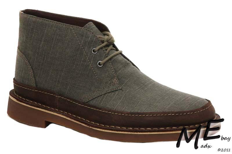 New Clarks Bushacre Rand Chukka Men shoes Size 8 (MSRP  120)