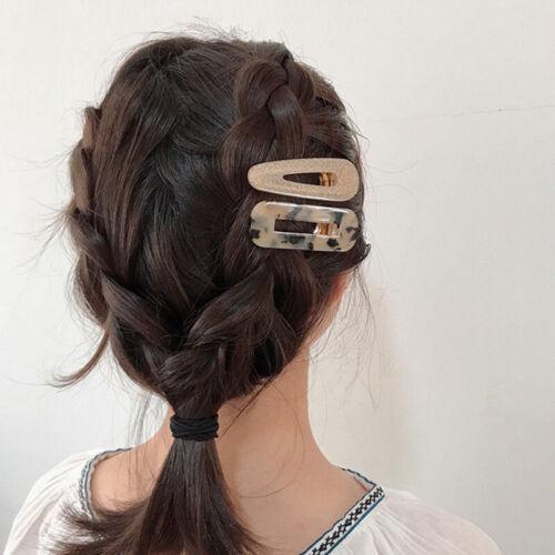 Women Vintage Leopard Hair Clip Bobby Pin Hairband Hairpin Barrette Comb ZAB