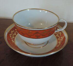 Extra Large Antique 18th C Worcester Flight Barr Porcelain Tea Cup