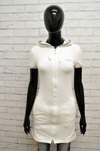 Felpa-Lunga-STEFANEL-Donna-Taglia-XS-Maglione-Maglia-Sweater-Shirt-Woman-Bianco