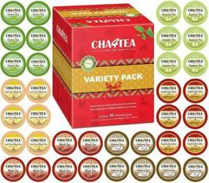 Cha4Tea-36-Count-Variety-Tea-Sampler-Pack-For-Keurig-K-Cup-Brewers-Multiple-Fla