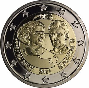 Belgien 2 Euro Münze Internationaler Tag Der Frau Gedenkmünze 2011