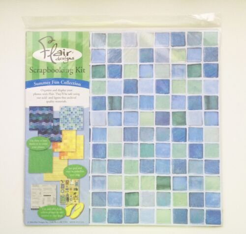 Summer Fun Collection Flair Designs Scrapbooking Kit