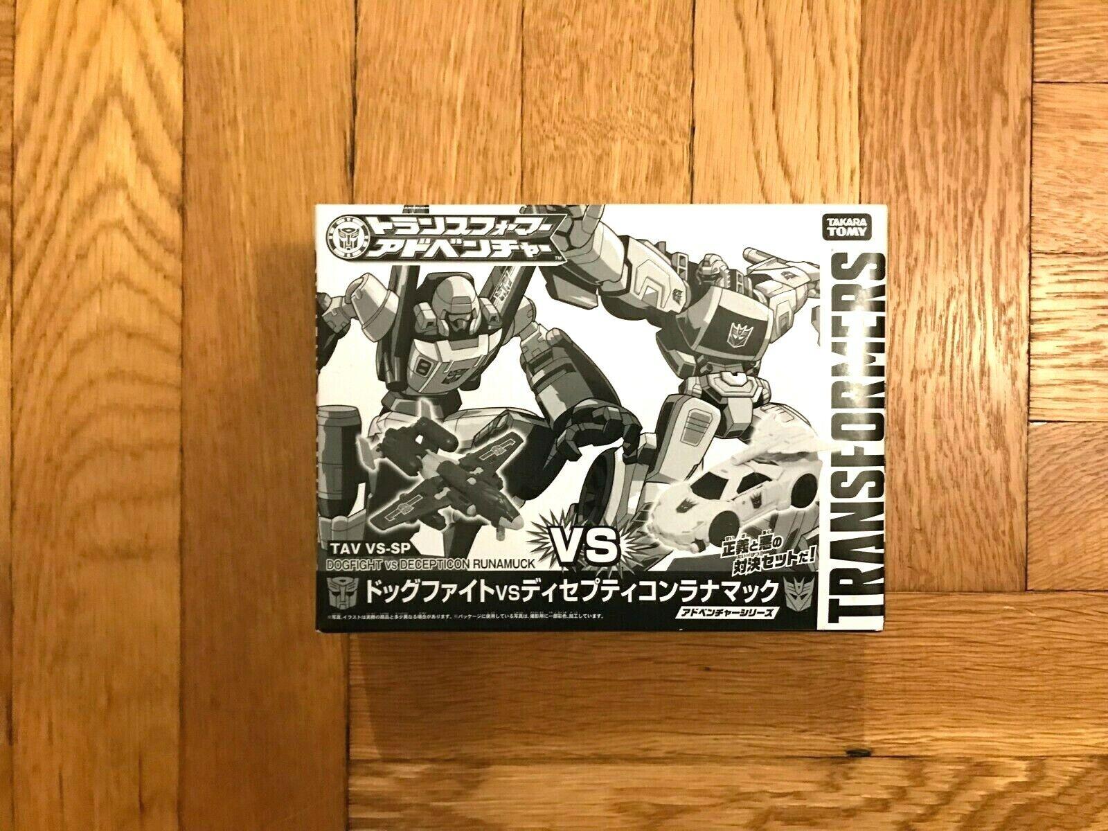 TRANSFORMERS Takara Million Publishing Dogfight VS Decepticon Runamuck TAV VS-SP