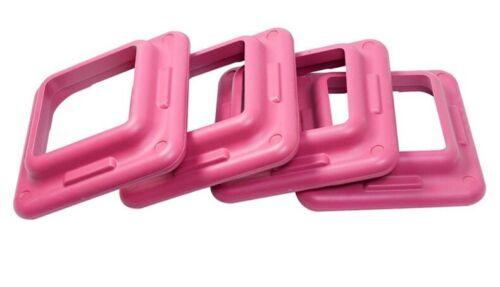 """Aerobic Step Adjustable Fitness Step platform//4 Risers 4/"""" 6/"""" 8/"""""""