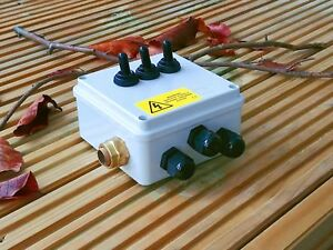 3 Way Toggle Switch Pour Étangs-Extérieur avec un câble blindé Inlet-IP56-afficher le titre d`origine vd89Wl96-07193814-850041174