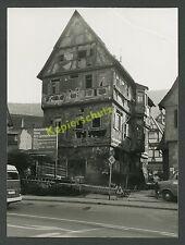 Bad Urach reticolare casa gorisbrunnen cantiere strada automobili Karlsbad Köstlin 1977!!!
