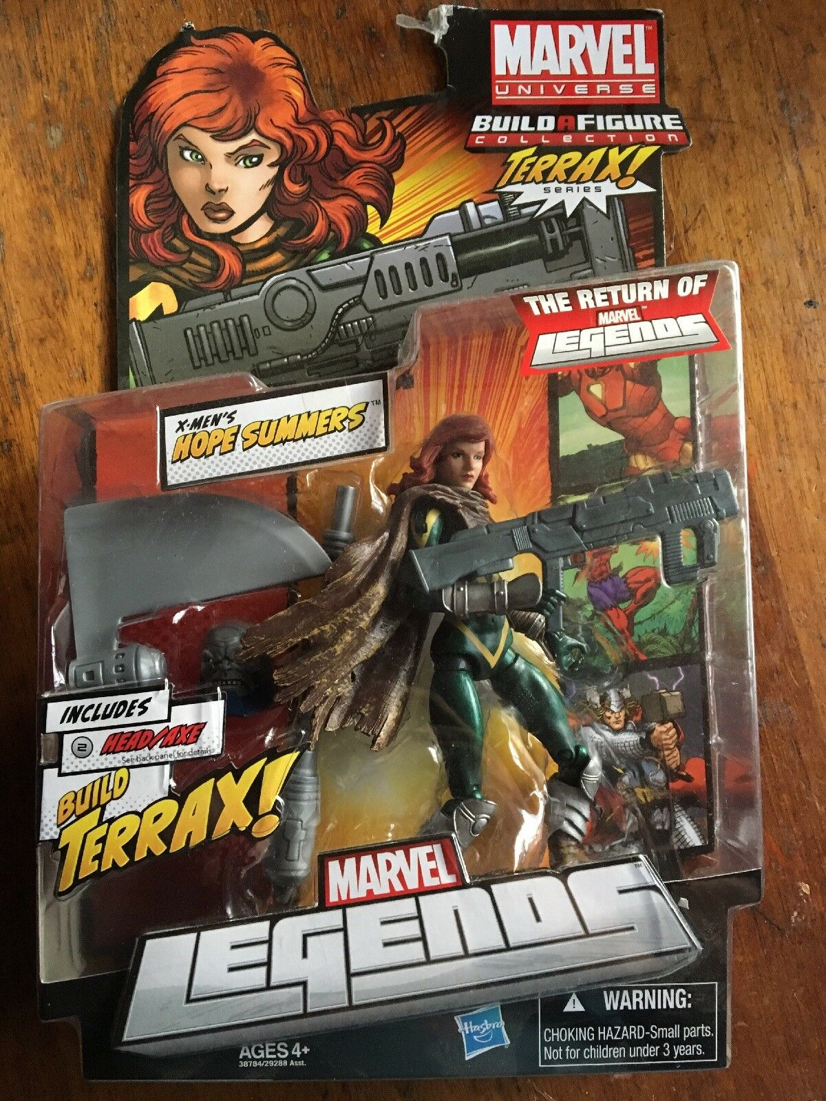 Marvel Legends HOPE SUMMERS action figure (Terrax BAF Series, VHTF )