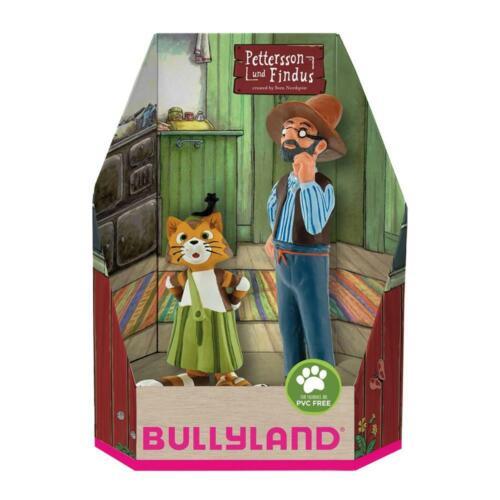 Bullyland 46005 Pettersson und Findus in Geschenk Box Spielfigurenset 2 teilig
