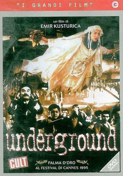 Underground (1995) DVD (I Grandi Film)