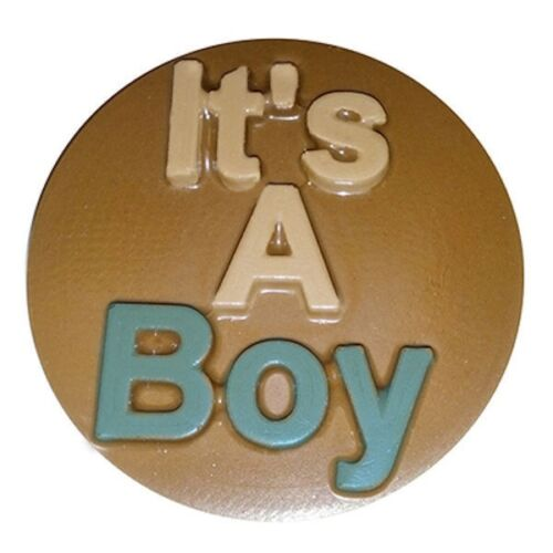 NEW It/'s A Boy Baby Chocolate Cookie Candy Mold from CK #16118